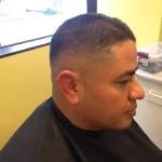 Faded men's cut! Stylist: Amy