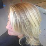 Love the dimension within the blonde. Stylist: Amy